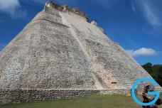 Templo de Uxmál, Yucatán, México
