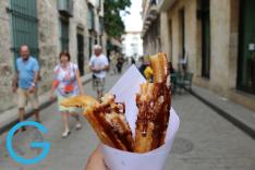 Churros in Havana, Cuba