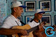 Guitars Fill the Room in Trinidad, Cuba