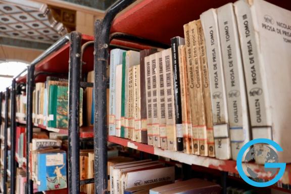 The Library in Trinidad, Cuba