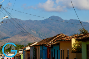 The Mountains from Trinidad, Cuba